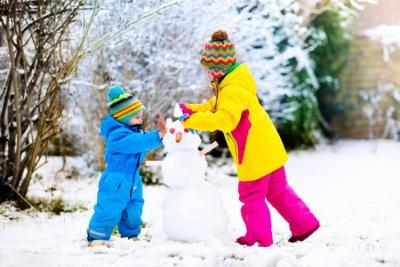 Dress-up your kids with layers in winter appropriately